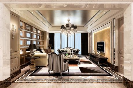 翡翠湾170㎡欧式4室2厅