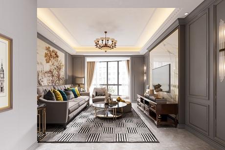 中海馨园206㎡美式两室两厅