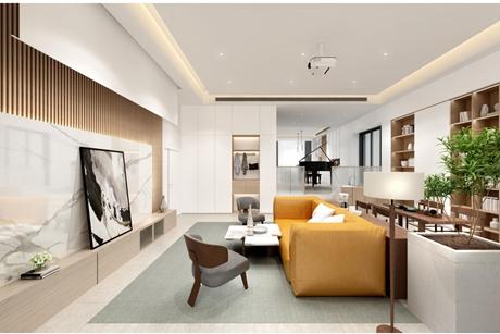 汤臣豪庭268㎡现代简约两室一厅