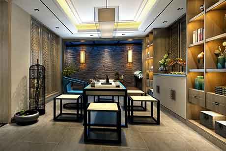 颐湾丽庭 420㎡中式别墅