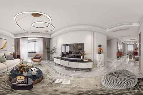 文馨园135㎡现代简约三房俩厅一厨俩卫