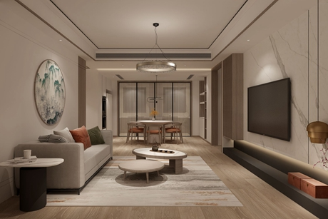 上尚缘220㎡新中式别墅