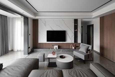 申亚华满庭150㎡现代简约4室2厅
