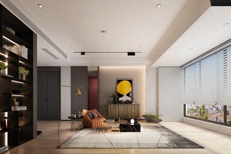 尚海郦景120㎡现代简约4室2厅