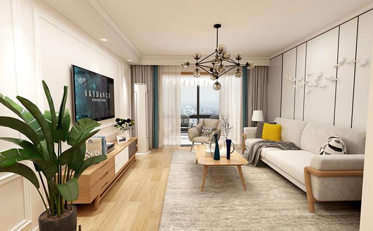 上海装修公司让小户型变大空间装修设计技巧很重要