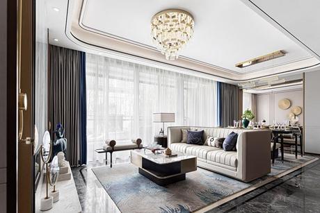 誉品谷水湾120㎡新中式公寓