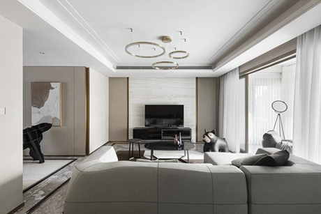 南阳新都110㎡现代简约公寓
