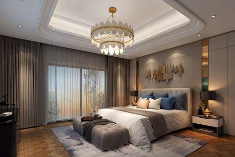 海德名门355㎡现代简约五室三厅