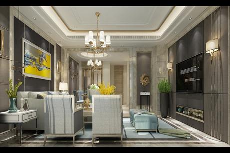 上海庄园280㎡现代简约别墅