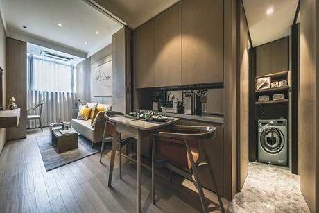 潍坊路69㎡现代简约1室2厅