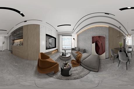 月光之上95㎡现代简约3室2厅