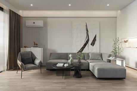 万物静50㎡现代简约2室1厅