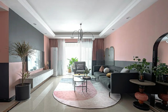 高颜值客厅背景墙设计图 家居装修门面担当