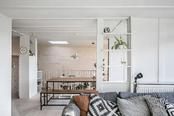 老房装修改造案例 一层变双层 完胜小别墅