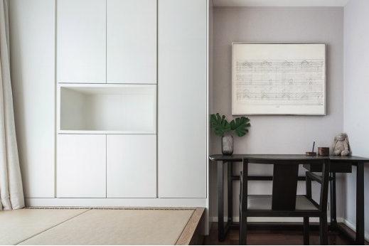 188㎡现代简约大平层装修实景:宽境高层的居住美学