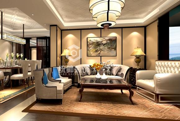 星晓家园160平中式三居室