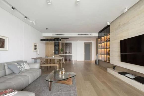 沔溪苑122平装修效果图案例分享,三房改两房全屋原木风太漂亮了!