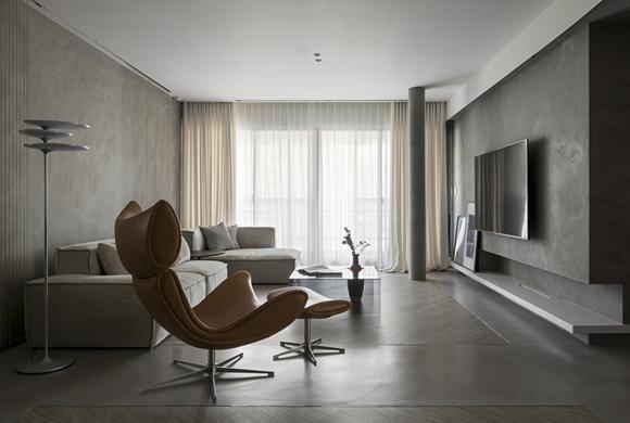 首创禧悦152平现代简约三居室