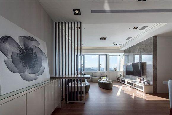 浦东蓝村小区三居130平装修样板间 台式风格设计