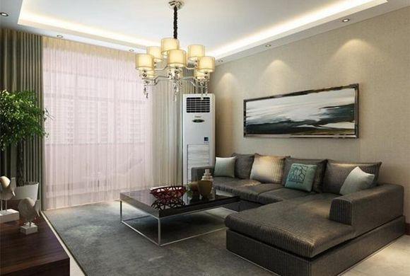 独栋别墅客厅中式装修效果图 私企老板顶级家装案例 造价120W!