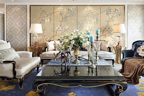350平方米别墅装修案例 内部装修实景 优雅与奢华相融!