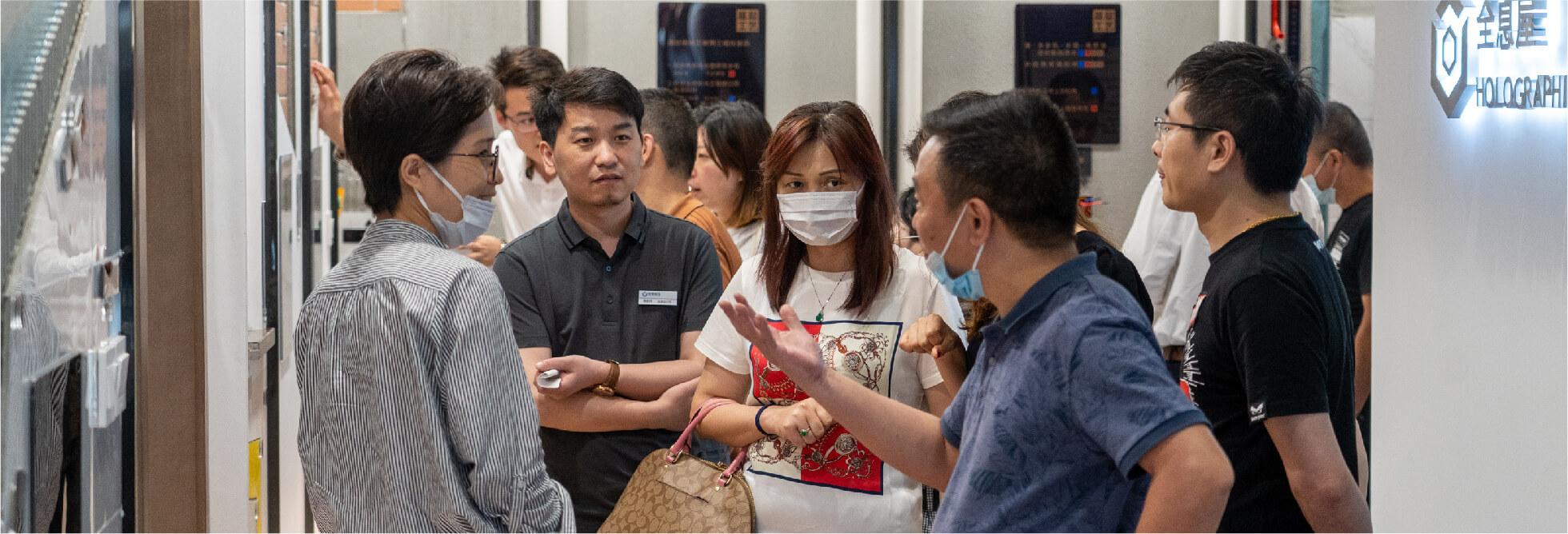 上海家博会现场示图1